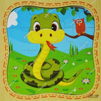 Пазл «Змейка», 16 дет.