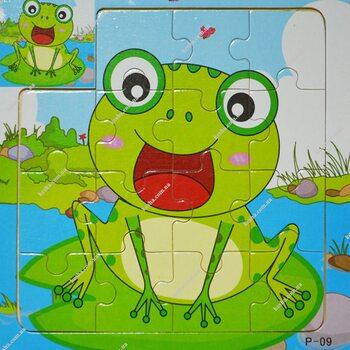 Пазл для малышей «Лягушка», 15 дет.