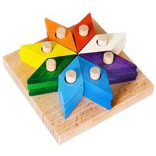 Пирамидка-сортер «Цветочек»