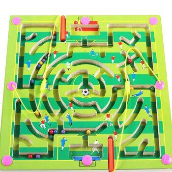Магнитный лабиринт-игра «Футбол»