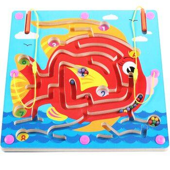 Магнитный лабиринт-игра «Рыбка»