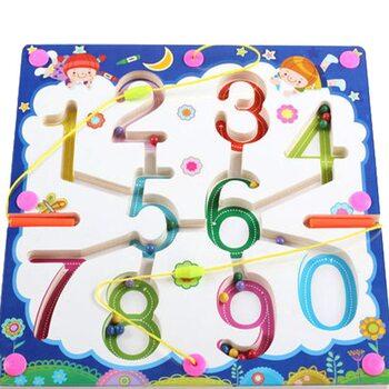 Магнитный лабиринт-игра «Сосчитай цифры»