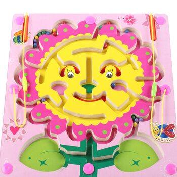 Магнитный лабиринт-игра «Солнечный цветок»