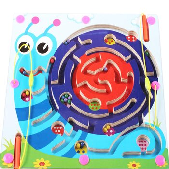 Магнитный лабиринт-игра «Улитка»