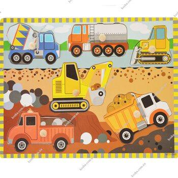 Рамка-вкладыш «Автомобили строительной техники»