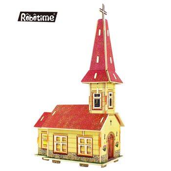 Церковь, сборная модель, 25 дет.