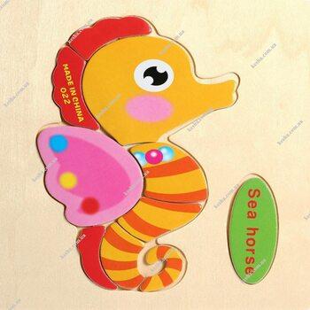Sea horse (пазл детский)