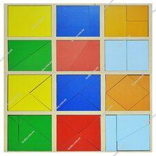Сложи квадрат 1 уровень по Методике Никитиных