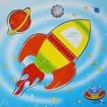 Собери картинку «Ракета»