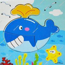 Собери картинку «Рыба Кит»