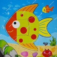 Собери картинку «Рыбка»