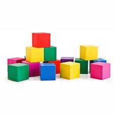 Разноцветные кубики, 20 шт.