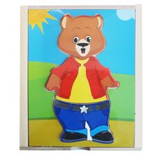 Игра-гардероб «Медвежонок Майк»