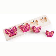 Рамка-вкладыш «Бабочки розовые»