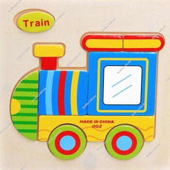 Train (пазл детский)