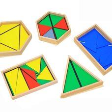 Игра «Конструктивные треугольники»