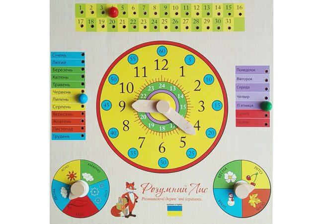 Годинник-календар (укр.)