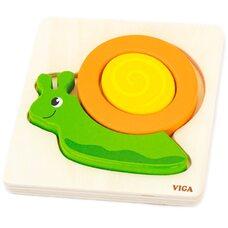Объемный пазл «Улитка» от Viga Toys