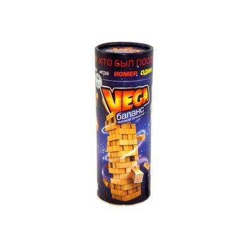 Настольная игра «Vega» в тубе, 56 дет.