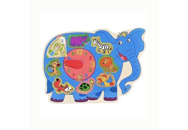 Часы-вкладыши «Слон»