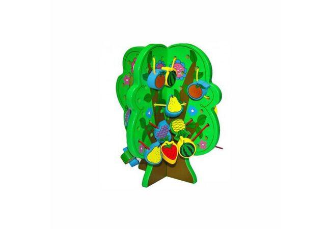 Шнуровка «Дерево с фруктами»