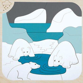 Мозаика «Мороз и солнце», двухслойная, 34 дет.