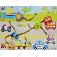 Деревянный лабиринт «Транспорт»