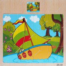 Пазл «Кораблик», 12 дет.