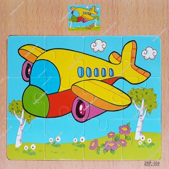 Пазл «Самолетик», 12 дет.