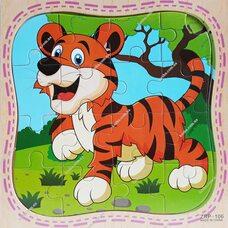 Пазл «Тигр», 16 дет.