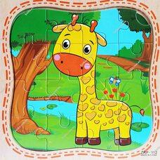 Пазл «Жираф», 16 дет.