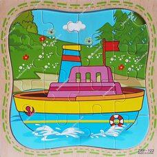 Пазл «Корабль», 16 дет.