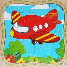 Пазл «Самолет», 16 дет.