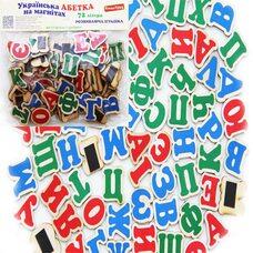 Набор букв украинского алфавита на магнитах