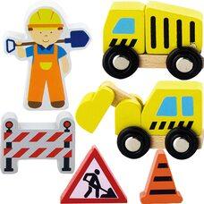 Набор к железной дороге «Строители»