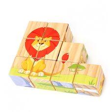 Кубики с животными Африки