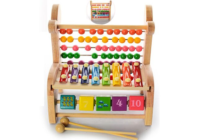 Ксилофон-счеты-кубики