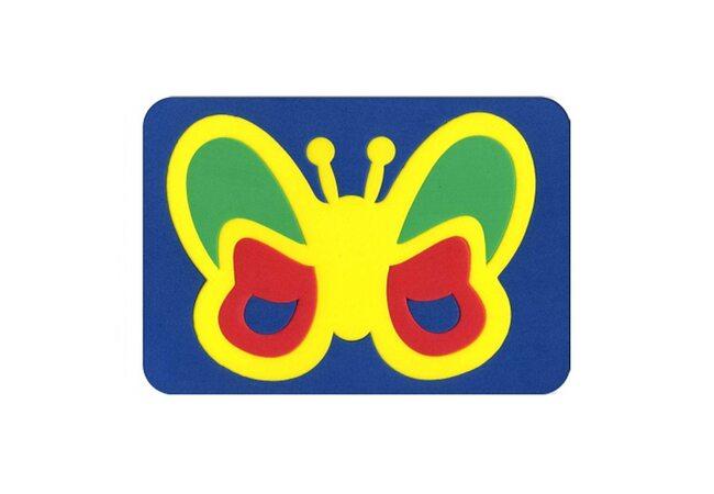 Мозаика «Бабочка» многоцветная