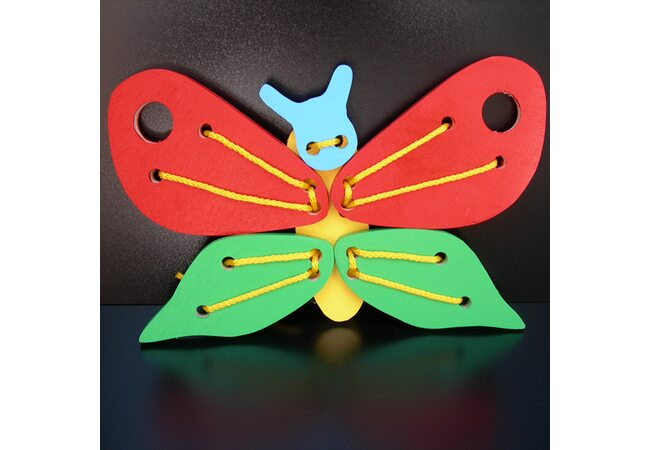 Шнуровка «Бабочка-красивая»
