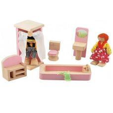 Набор мебели «Ванная комната» (цветной)