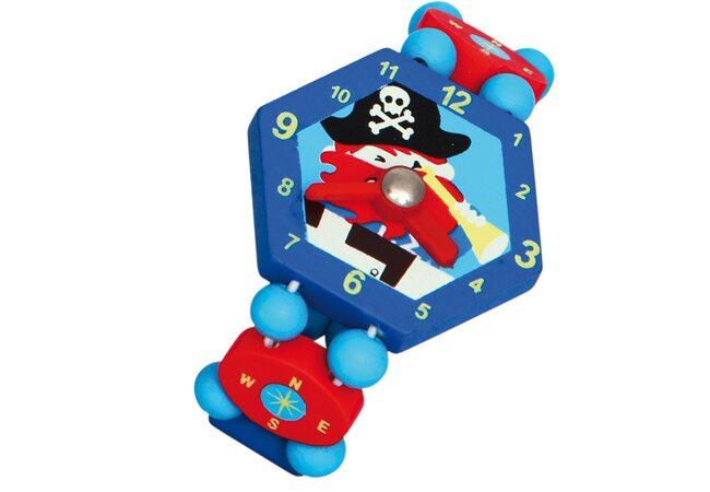Часики-браслет «Пират» (синие)