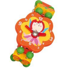 Часики-браслет «Фея» (оранжевые)