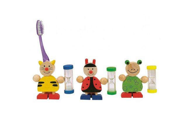 Подставка для зубной щетки с песочными часами