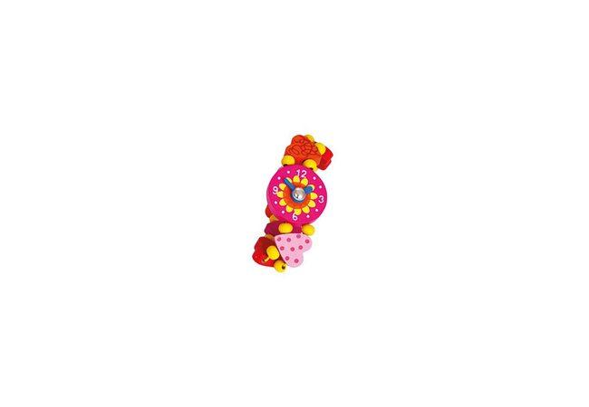 Часики-браслет «Сердечки»