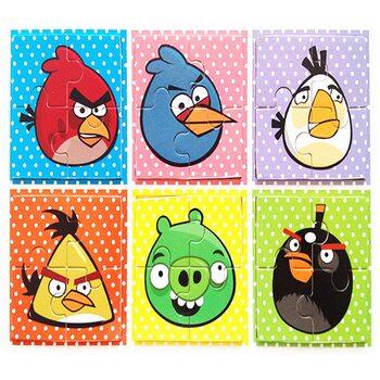 Пазлы «Angry Birds», 4 эл.