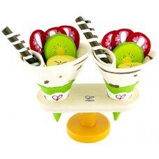 Десерт «Блинчики с фруктами»