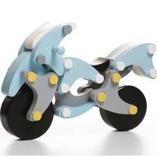 Магнитный конструктор «Мотоцикл» (blue)
