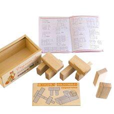 Кубики Никитина «Кирпичики» (Розумний Лис)