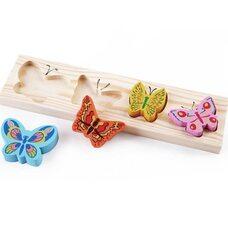 Развивающий вкладыш «Бабочки»