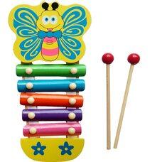 Ксилофон «Бабочка», 5 тонов